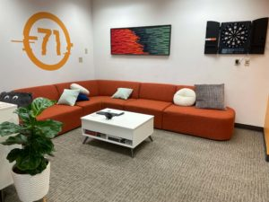 Antidote 71 Sioux City Office Lounge